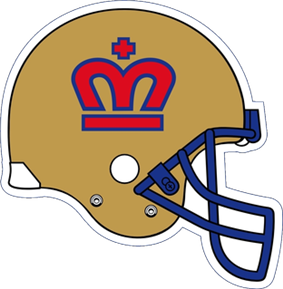 London Monarchs helmet