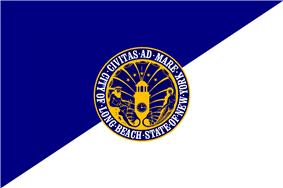 Flag of Long Beach, New York