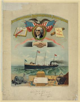 International Longshoremen's Union banner