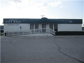 Lorena City Hall is located off Interstate 35.