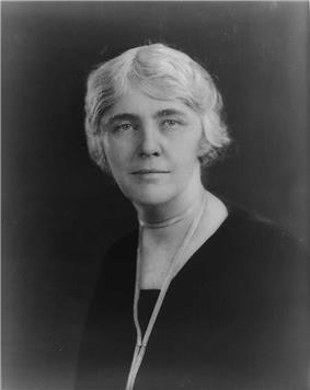 Portrait of Lou Hoover