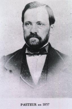 Louis Pasteur in 1857