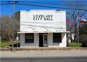 Lovelady City Hall