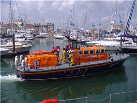 RNLI Tyne class lifeboat