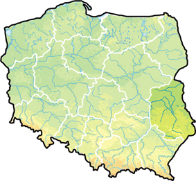 Location within Poland