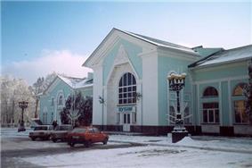 Lubny train station