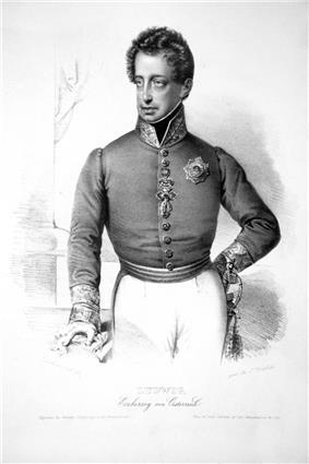 Archduke Louis led the V Armeekorps.
