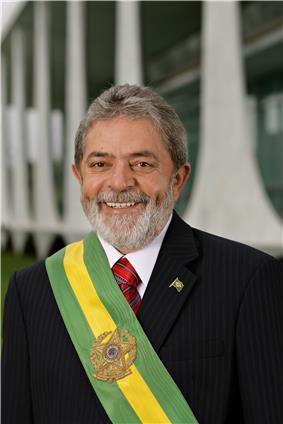 Portrait of Luiz Inácio Lula da Silva