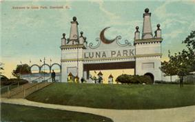 One of the first of Frederick Ingersoll's Luna Parks, Luna Park, Cleveland was a popular amusement park from 1905 until its demise in 1929.