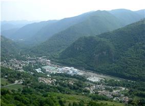 A general view of Luzenac