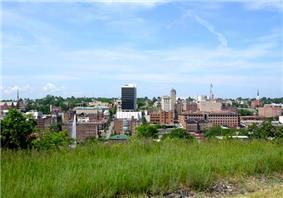 Downtown Lynchburg skyline