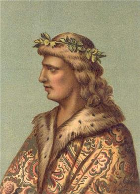 Matthias as a young King