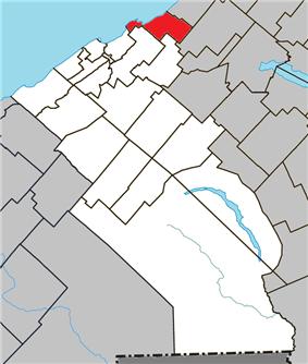 Location within La Mitis RCM.