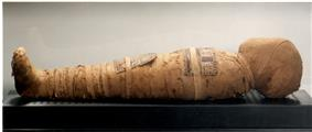 Nesi mummy (dynasty XX). Biblioteca Museu Víctor Balaguer. Vilanova i la Geltrú. Spain