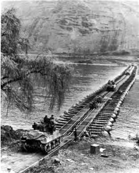 M2 Treadway Bridge on the Rhine at Boppard near Koblenz, Germany, March 1945.jpg