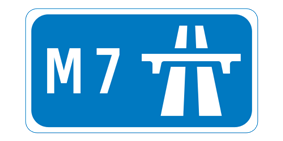 M7 motorway shield}}