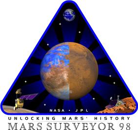 Mars Surveyor 98 mission logo