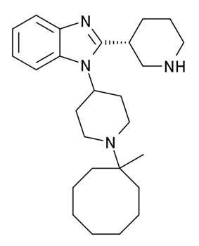 Chemical structure of MCOPPB.