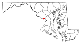 Location of Chevy Chase, Maryland