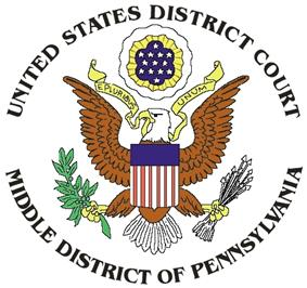 Seal of the United States District Court for the Middle District of Pennsylvania