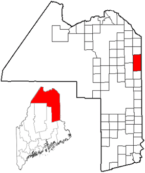 Location of Fort Fairfield, Maine