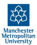 Logo of the Manchester Metropolitan University