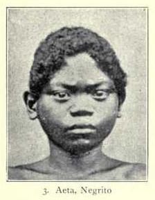 Aeta man, Negrito type