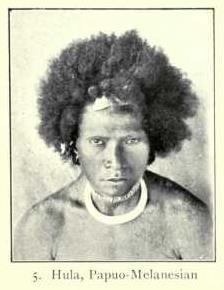 Hula man, Papuo-Melanesian type