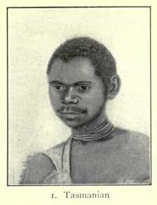 Tasmanian man, Tasmanian type