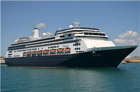 MS Volendam, Fremantle Harbour, 2012.