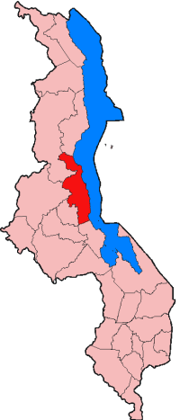 Location of Nkhotakota District in Malawi