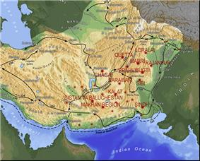Baloch and Alexander's empire