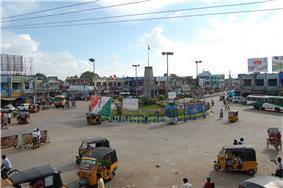 Koneru center, the business center of Machilipatnam
