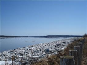 Mackenzie River from Fort Simpson