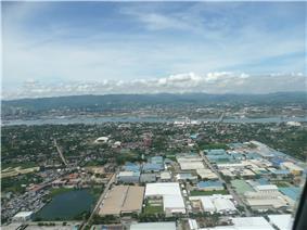 Aerial View of MEPZ II in urban Lapu-Lapu