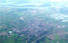 Aerial photo of Made