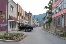 Main Street in Madison in 2007