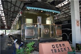 Ferdinand Magellan at the Gold Coast Railroad Museum