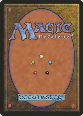 Magic: The Gathering card back