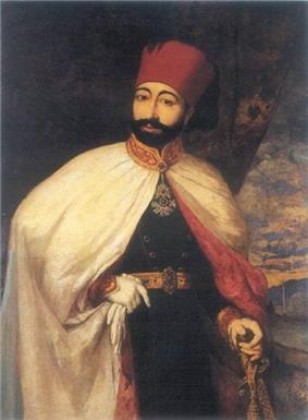 Portrait of Mahmud II