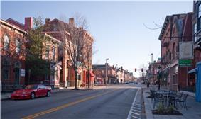 West Side-Main Strasse Historic District