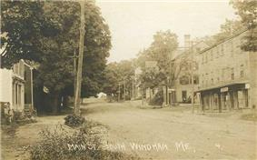 Main Street, South Windham c. 1910