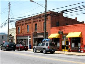 Main Street, Weaverville 2009