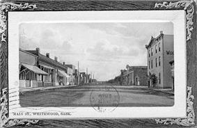 Main Street, Whitewood, 1913