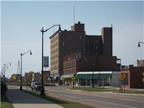 Main Street in Downtown Benton Harbor