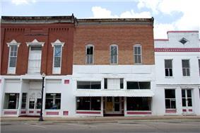Main Street in Greensboro, Alabama.