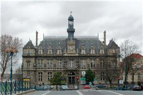 The town hall of Pantin