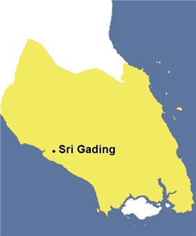 Skyline of Sri Gading 四加亭