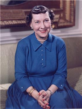 Portrait of Mamie Eisenhower