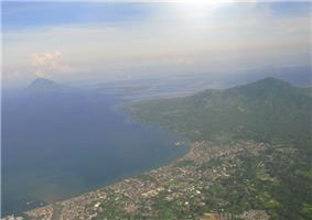 Skyline of Manado